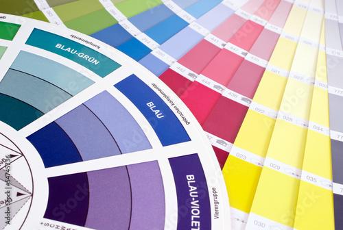 canvas print picture Farben auswählen