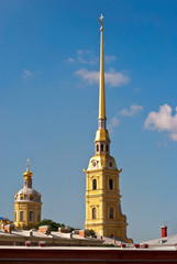 Spire of the Cathedral.
