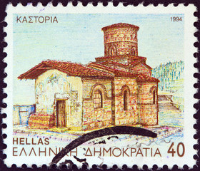 Panayia Koumbelidiki church, Kastoria, Macedonia (Greece 1994)