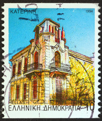 Tsalopoulou mansion house, Katerini, Pieria (Greece 1994)