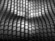 Luxury silver metal tile abstract background
