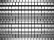 Dynamic cube silver background