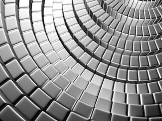 Silver brick shiny background