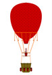 Vintage red balloon