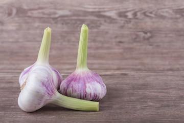 brown garlic