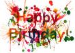 canvas print picture - Happy Birthday!