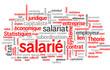 Salarié (salariat, travail, employé, tagcloud)