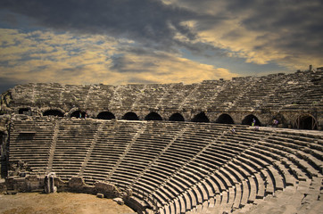 Side Archaic Theater@ANTALYA
