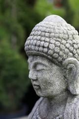 Asian Stone Portrait Vertical