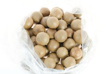 macadamia in bag
