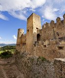 Castillo medieval de Frias (Burgos) poster