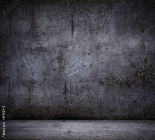 Black wall background - 54762945