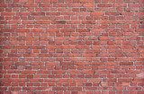 Fototapety Background of red brick wall