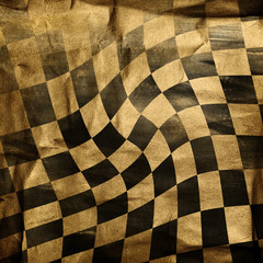 vivid grunge chessboard background