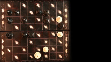 Chess Match Timelapse HD video