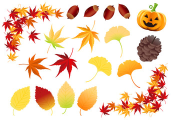 Autumnal parts Vector