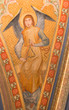 Vienna - Fresco of angel with the music instrument