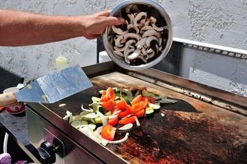 cuisson à la plancha