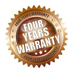 Bügel Button Kranz Four Years Warranty