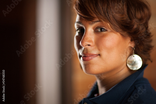 Portrait of beautiful confident African American woman