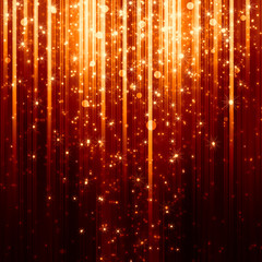 golden background with shiny lights