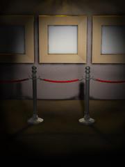 Gallerie Absperrung Museum D
