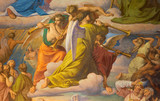 Vienna -  Angels with the trumps at Last judgment