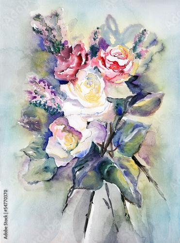 Roses Bouquet © Heidrun Gellrich