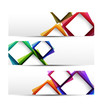 Abstract banner graphics