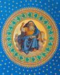 Vienna - Fresco of prophets  in Altlerchenfelder