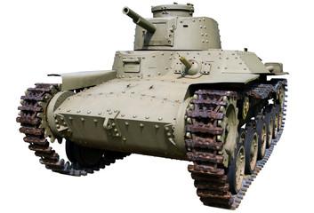 old medium olive tank