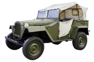 military command car