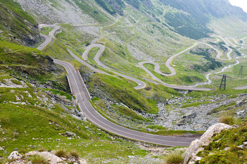 Transfagarasan mountain road, Romanian Carpathians