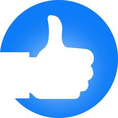 Like Hand Logo
