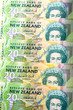 New Zealand Currency Dollar Notes Money