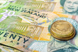 New Zealand Currency Dollar Notes  and Coins Money