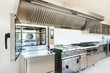 Professional kitchen in modern building - 54774324
