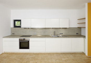 A modern kitchenette