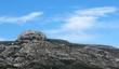 canvas print picture - Le Massif du Garlaban à Aubagne en Provence