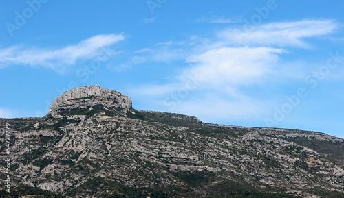 Le Massif du Garlaban à Aubagne en Provence
