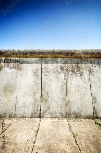 canvas print picture The Berlin Wall
