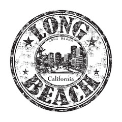 Long Beach rubber stamp