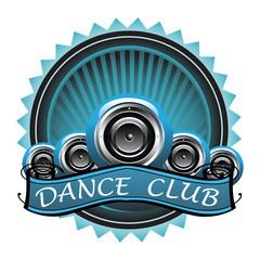 Dance club badge