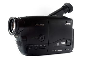 cassette video camera