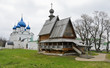 Church of St. Nicholas and Nativity church in Suzdal, Russia