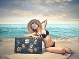 Fototapety vintage summer