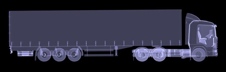 Big truck tractor