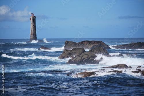 Fototapeten,meer,leuchtturm,bretagne,ozean