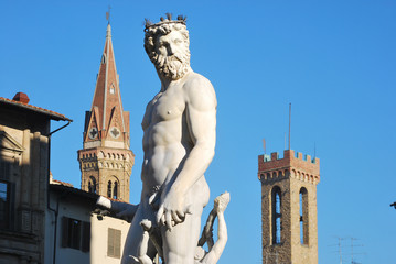 Statue of Neptune - Florence - Italy - 211