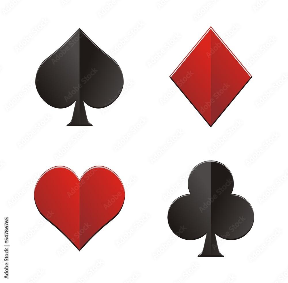 Luxury Heart Spade Club Diamond Playing Card Symbol Wall  : 1000F54786765qk9DYj5LYUL2MMiu0qJhHX0hhWOha4zH from thestickerstudio.com size 1000 x 980 jpeg 69kB